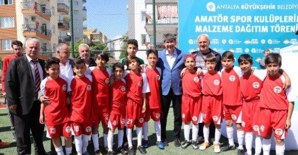 Büyükşehir'den amatör spor kulüplerine yardım