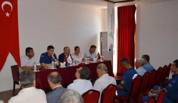Adrasan'da turizm güvenliği toplantısı