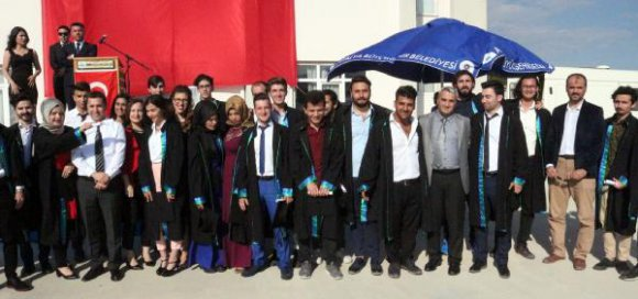 Korkuteli MYO'da mezuniyet