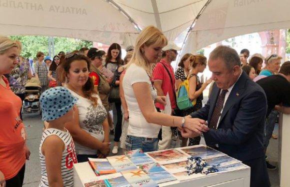Konyaaltı Moskova'da tanıtıldı