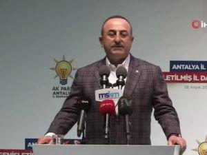 """""""Libya ile imzaladığımız mutabakat boş bir mutabakat zaptı değil"""""""