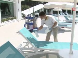 Antalya'da Rus turist sevinci