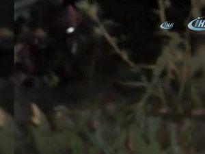 Kanyonda mahsur kalan 4 üniversiteli drone ile bulundu