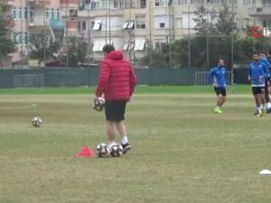 Alanyaspor Kahramanmaraşspor maçı hazırlıklarını sürdürdü
