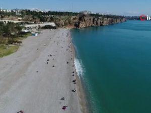 Antalya'da şubat ayında nisan havası yaşanıyor